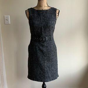 Banana Republic belted sheath dress size 4P